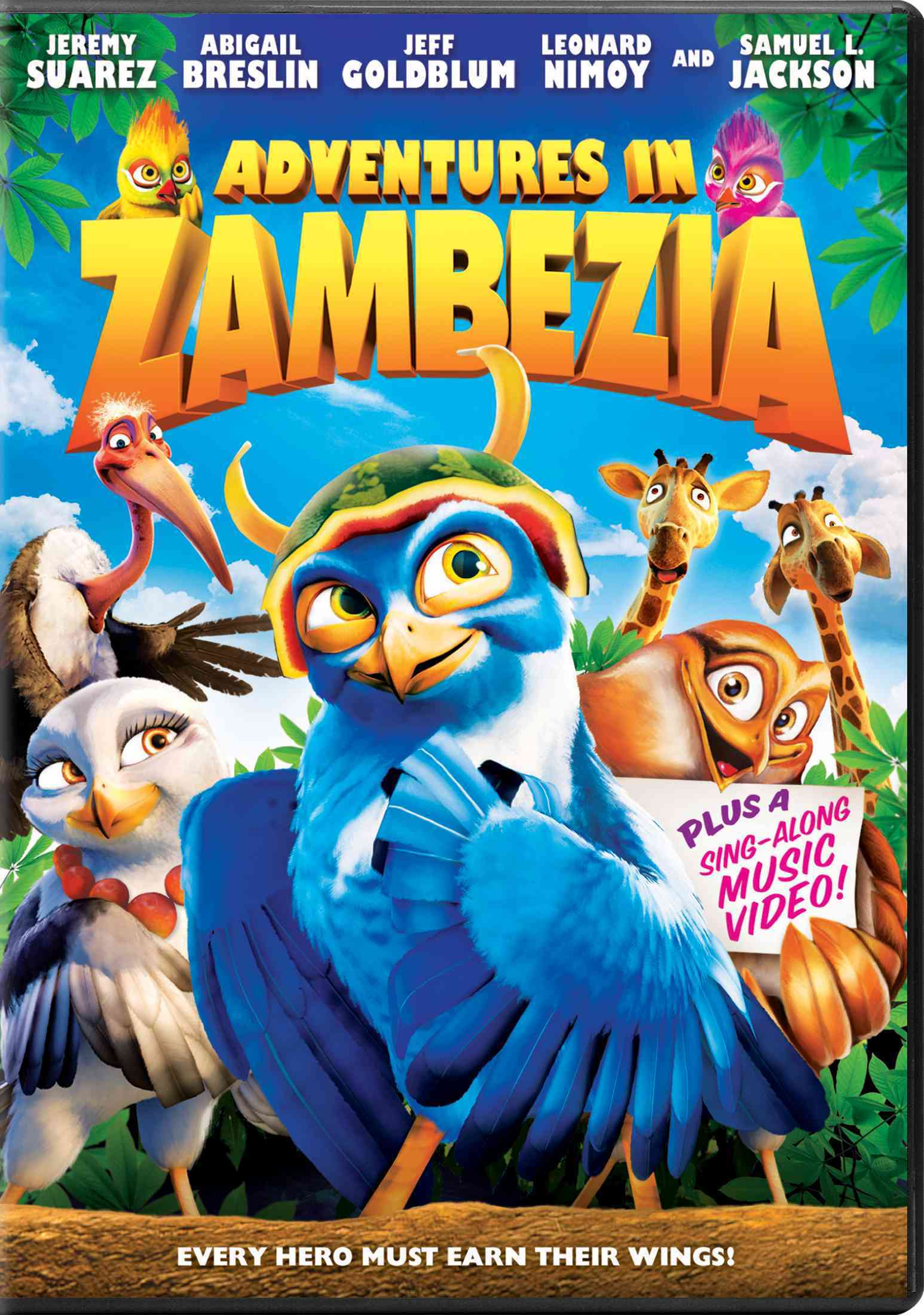 ADVENTURES IN ZAMBEZIA BY NIMOY,LEONARD (DVD)